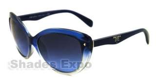 NEW PRADA SUNGLASSES SPR 21N BLUE GOD 5I1 SPR 21N AUTH