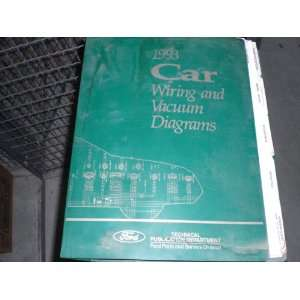 and Vacuum Diagrams Passenger Cars Mustang ford motor co. Books