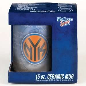 NEW YORK KNICKS 15OZ CERAMIC COFFEE MUG Sports & Outdoors