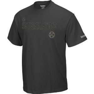 Reebok Pittsburgh Steelers Sideline Boot Camp Short Sleeve T Shirt