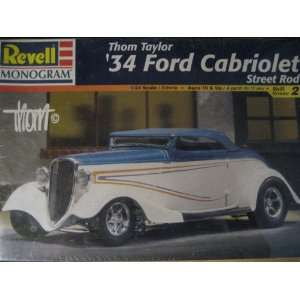 Thom Taylor 34 Ford Cabriolet Street Rod 124 Scale Toys