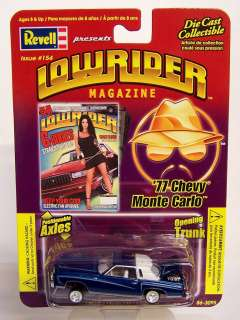 RARE! Revell 1/64 LOWRIDER MAGAZINE Issue # 154 Diecast 1977 Chevy
