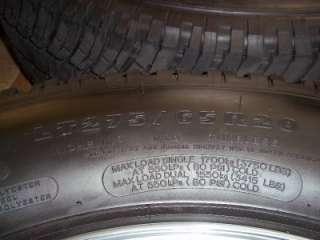 2011 2012 Ford Super Duty 20 OEM 8 Lug Wheels & Tires LT275/65R20 F