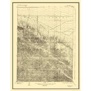 USGS TOPO MAP SAN ANTONIO QUAD CALIFORNIA (CA) 1903
