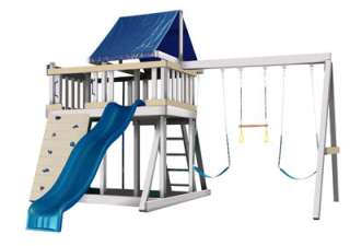 Monkey Playsystem, Swing Set, designed with 100% SPLINTER FREE SYSTEM