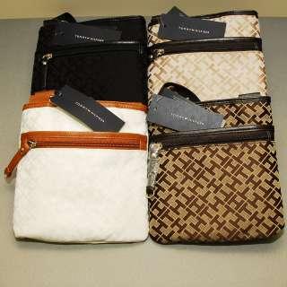 Womens Small Zip Crossbody Handbag Bag Purse Purses Black Brown