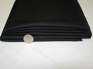 Speaker Grill Cloth Black Dbl Knitt Style JBL,Infinity Bose,Klipsch
