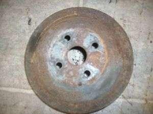 1948 PONTIAC WATER PUMP PULLEY ENGINE 6CY 48 47 46 1947 |