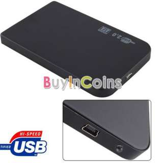 New Ultra Slim USB 2.0 2.5 SATA External Box Hard Disk Driver Case