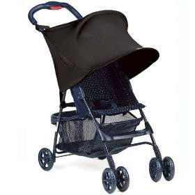 Kiddopotamus RayShade Stroller Sun Ray Shade UV Black