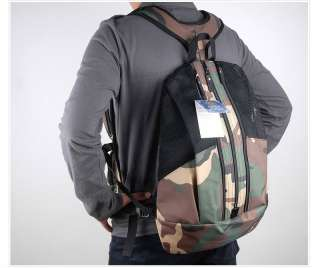 Fishing Vest + Backpack, Military style Multi purpose Bag fly fishing