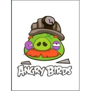 Angry Birds Pig 2 Temporaray Tattoo: Toys & Games