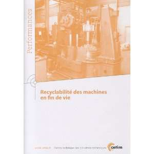 recyclabilite des machines en fin de vie performances