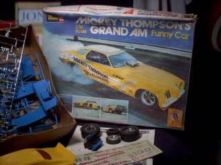 Model Kit Mickey Thompsons Funny Car 1/16 Scale