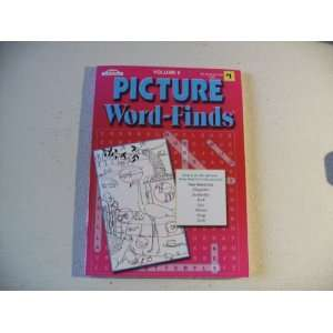 Picture Word Finds Puzzle Book