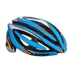 Lazer Genesis RD Race White Sky Blue Cycling Helmet XXS M 52 57cm with