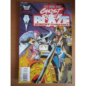 The Final Ride Ghost Rider Blaze Sprit of Vengeance Comics