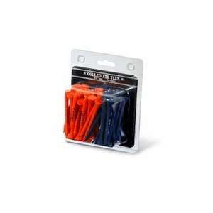 Auburn Tigers Imprinted Golf Tee Pack (Two Sets of 50 Tees