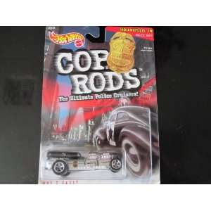 Indiana Police Car Hot Wheels 1999 Cop Rods Series 1
