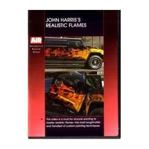 Airbrush Action D1JH01 JOHN HARRISS REALISTIC FLAMES