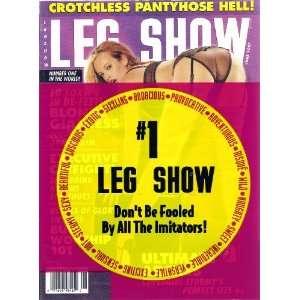 Show Magazine June 2001 Crotchless Pantyhose Hell: LEG SHOWl: Books