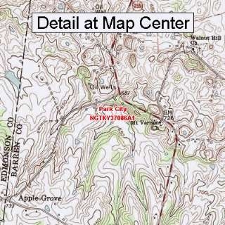 Map   Park City, Kentucky (Folded/Waterproof)