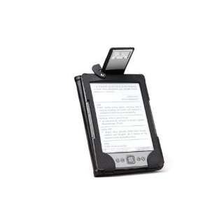 NEW GreatShield Premium Kindle 4 Leather Case Cover with Built in
