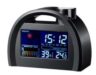 Weather Station Multi function LED LCD Snooze Alarm Clock