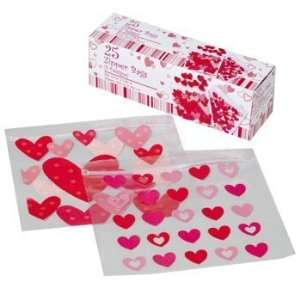 Valentines Day Sandwich Zipper Bags Case Pack 96   675775