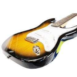SVP Dr. Tech MEB 001 3 color Sunburst Electric Guitar