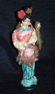 Vintage Chinese Asian China Traditional Dress Doll 9.5