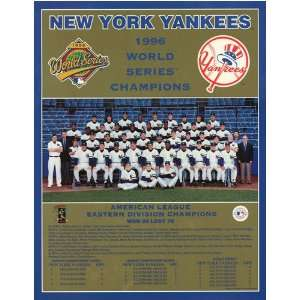 New York Yankees    World Series 1996 New York Yankees