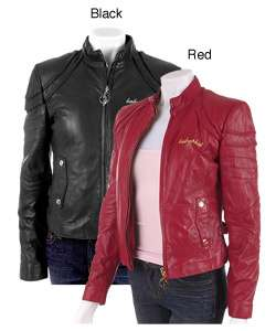 Baby Phat Lamb Leather Zip Jacket  Overstock