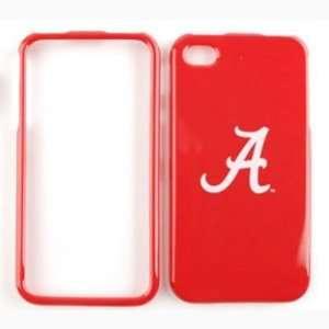 Apple iPhone 4 / 4S NCAA ALABAMA CRIMSON TIDE Hard Case, Snap On Cover