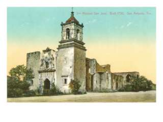 Mission San Jose, San Antonio, Texas Posters at AllPosters