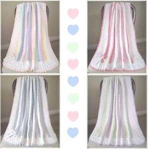 SOFT HAND CROCHET BABY BLANKETS Boutique Collection NEW