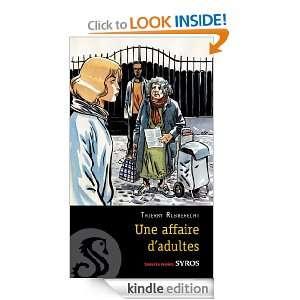 Une affaire dadultes (Souris noire) (French Edition) Thierry
