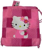 Sanrio Hello Kitty Drawstring Bag   Patchwork in Pink Clothing