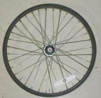 20 REAR X RIMS BMX BLACK BICYCLE/BIKE ALUMINUM RIM PARTS B352