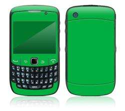 Simply Green BlackBerry Curve 8500 Decal Skin