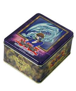 Yu Gi Oh 2003 Blue Eyes White Dragon Tin