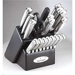 Cuisinart 21 piece Stainless Steel Cutlery Set  Overstock