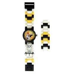 LEGO Star Wars Childrens Stormtrooper Mini Figure Link Watch