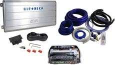 Hifonics Zeus ZRX2000.4 2000 Watt A/B Car Audio Amplifier+Amp Kit