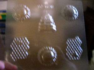 BEE ASSORTMENT CHOCOLATE CANDY SOAP MOLD MOLDS