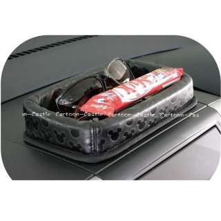 Mickey Mouse Auto Car Dashboard Non Slip Storage Case