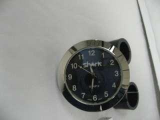 Motorcycle bicycle atv Handlebar Clock chrome White for 7/8 1 1/4