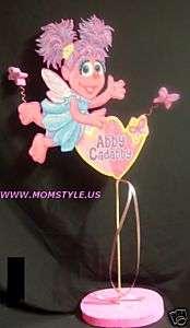 Abby Cadabby birthday party centerpiece decoration