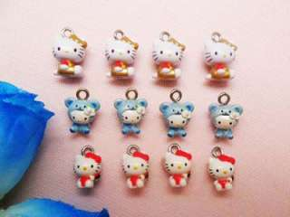 12 Hello Kitty Pendant / Charm (40H) APD0483 wholesale