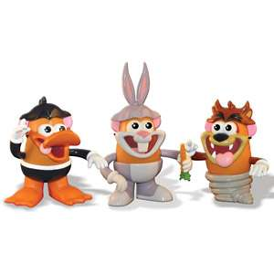 Devil, Bugs Bunny And Daffy Duck, Looney Tunes Action Figures